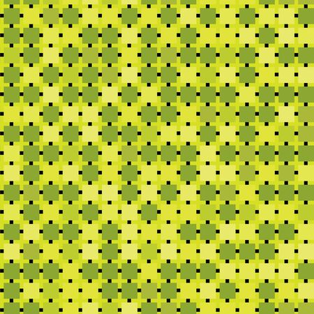 Abstract seamless green tiles background Vector