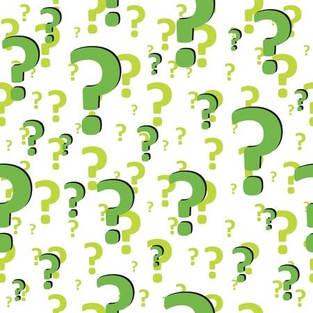 whose: Segno di domanda. Illustrazione 3d Art