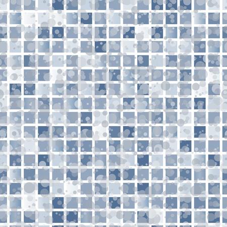 checks: Abstract seamless brown tiles background