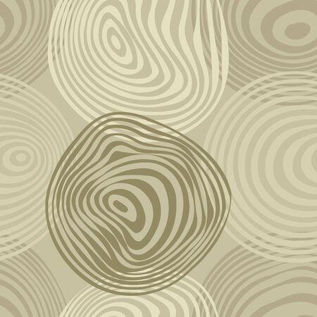 frantic: Seamless vivid circle abstract pattern Illustration
