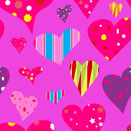 pop-art valentine background Vector