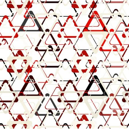 Seamless abstract grey geometric pattern
