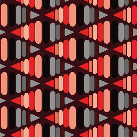 madras: Seamless abstract black geometric pattern