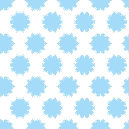 Seamless vector wallpaper with snowflakes Vector