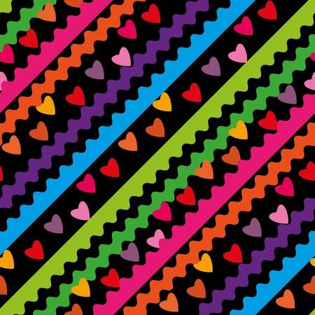 dearness: Seamless abstract vivid geometric pattern Illustration