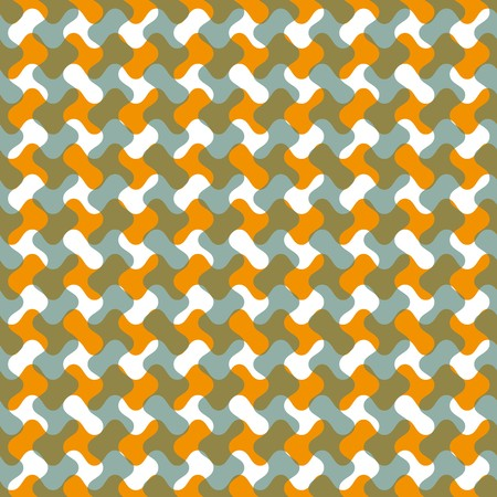 Seamless abstract grey geometric pattern Vector