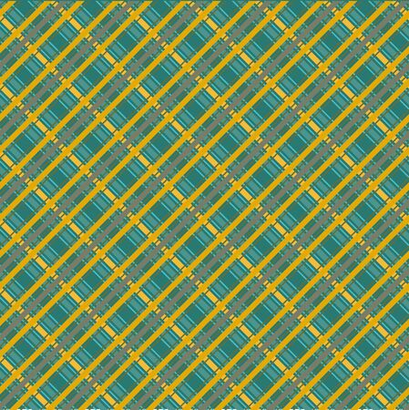 scot: Seamless plaid material vector pattern