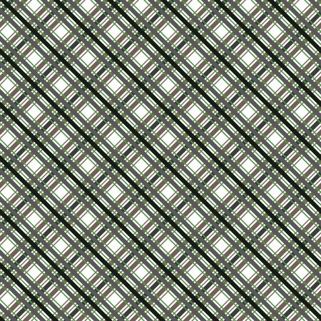 madras: Seamless plaid material vector pattern