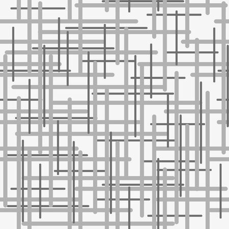 Seamless plaid material vector pattern