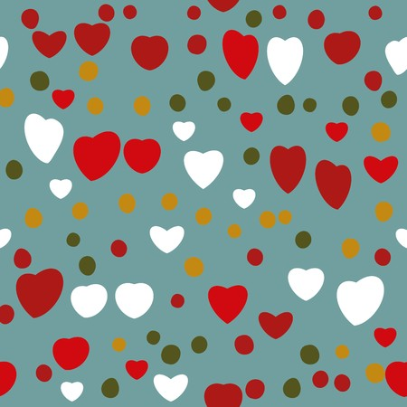 dearness: Abstract valentine background with hearts