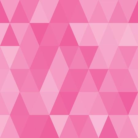 madras: Seamless abstract pink geometric pattern