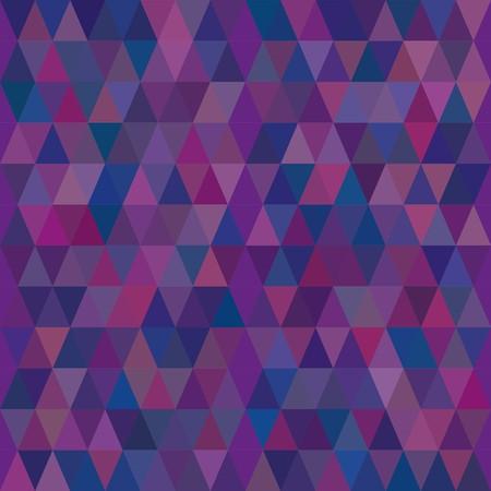 madras: Seamless abstract blue geometric pattern