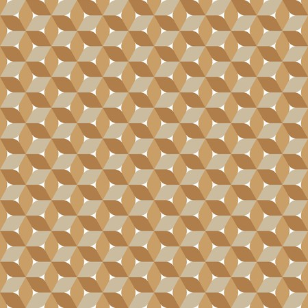 brown: Seamless abstract brown geometric pattern Illustration