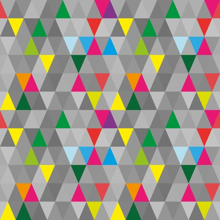 madras: Seamless abstract grey geometric pattern