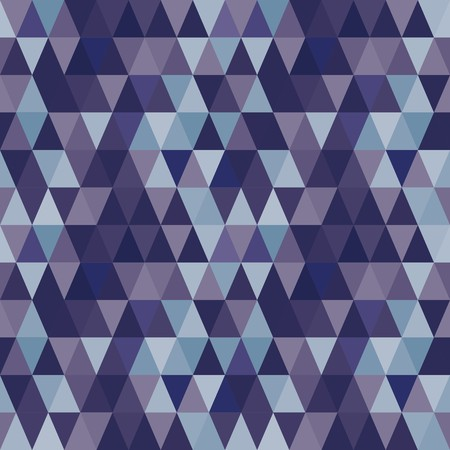 madras: Seamless abstract blue geometric pattern