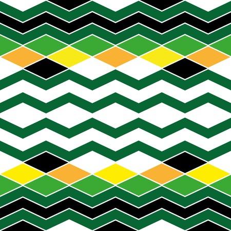 vivid: Seamless abstract vivid geometric pattern Illustration