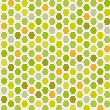 madras: Hexagon tiles. Abstract vector pattern Illustration