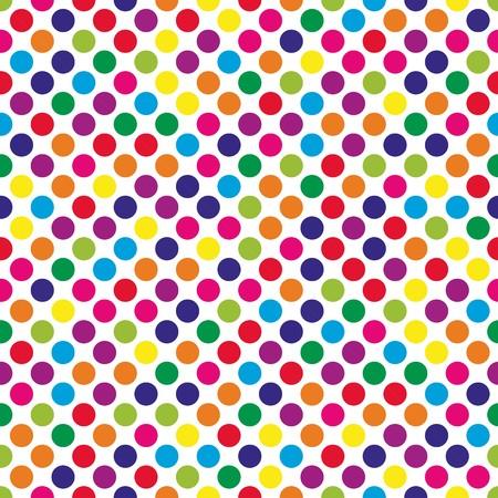 patron de circulos: Circles pattern in fashion trend colors