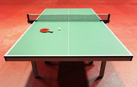 table tennis: Equipment for table tennis - racket, ball, table