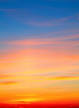 Colourful red-white-yellow Sky Background Stock Photo - 12775496