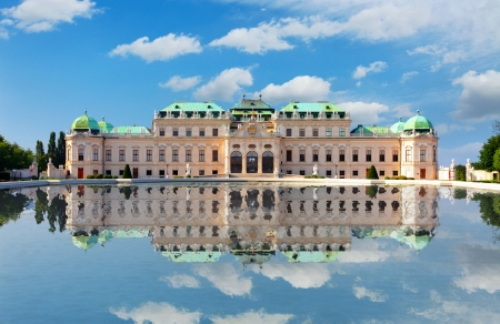 Belvedere Palace in Vienna -  Austria Stock Photo - 16376945