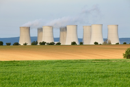Nuclear power plant Stock Photo - 16078117