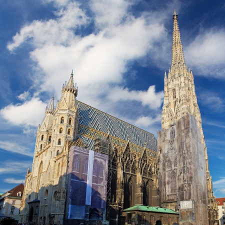 St  Stephan cathedral in Vienna, Austria Stock Photo - 16078271