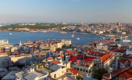 Istanbul Panorama at sunset