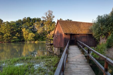 watermill: Spring landscepe with watermill -  Slovakia