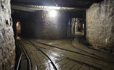 catacomb: Mine railway in undergroud