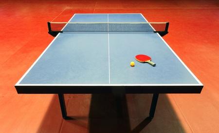 tennis de table: Table - Table de tennis - ping pong