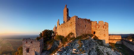 castle - Panoramic view, Slovakia Stock Photo - 16376973