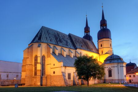nicolas: Saint Nicolas church in Trnava, Slovakia - Eastern Europe