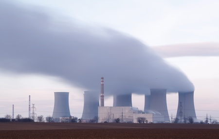 Nuclear power plant Stock Photo - 16466125