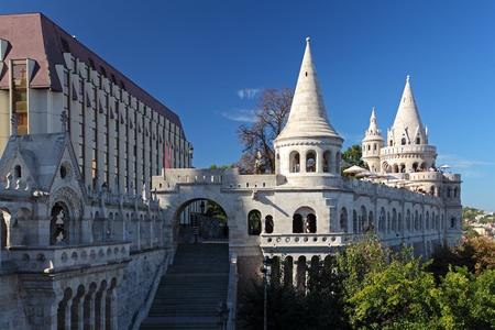 halaszbastya: Bastione dei Pescatori a Budapest Ungheria