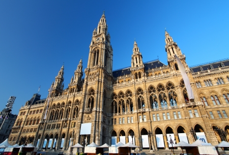 Vienna s City Hall, Austria, Vienna Stock Photo - 16553085