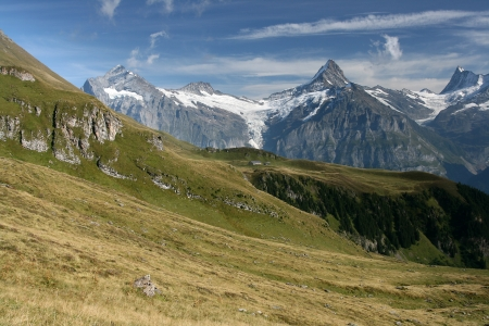 This is a hiking trail near Grindelwald photo