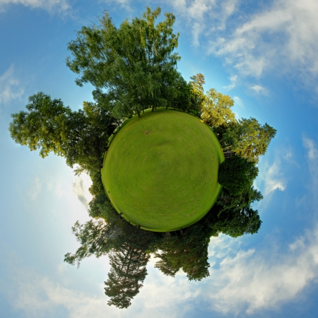 green planet: �cologie plan�te verte et le concept d'espace Banque d'images