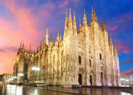 Milan cathedral dome - Italy photo