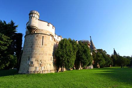 bluer: Laxenburg Water Castle - Tower,Lower Austria