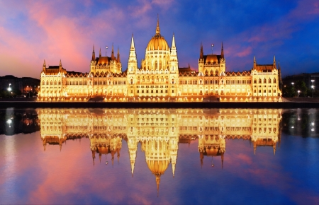 Budapest - Hungarian parliament  photo