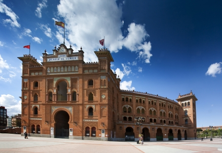 The Plaza de Toros de Las Ventas - Madrid, Spain