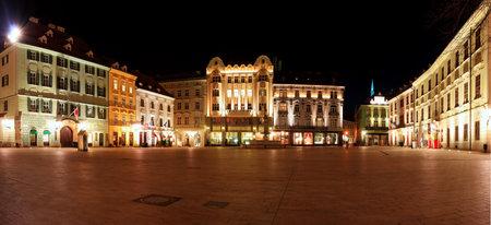 main gate: Main Square in Bratislava, Slovakia