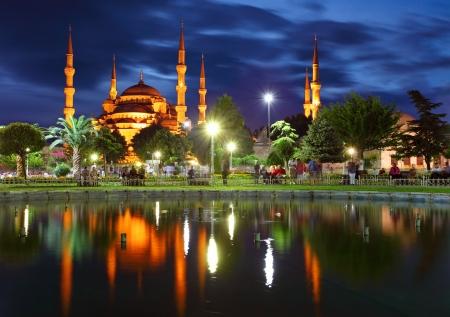 pavo: La Mezquita Azul - Estambul, Turqu�a