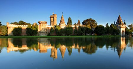 bluer: Laxenburg Water Castle, Lower Austria Stock Photo