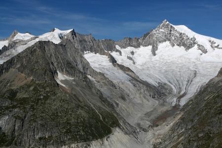 Aletsch glacier - Upper photo