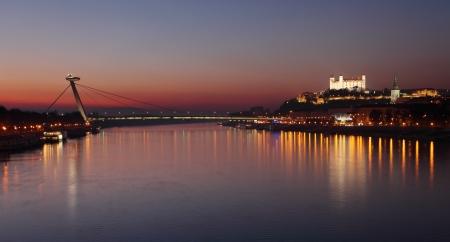 bratislava: Bratislava castle and bridge - Slovakia