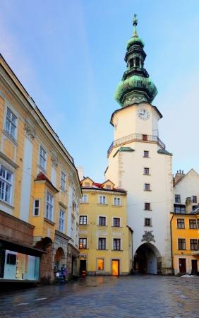 Bratislava - Michael Tower  Michalska Brana , Slovakia  Historic City Gate