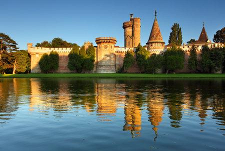 bluer: Laxenburg Water Castle - Lower Austria Editorial