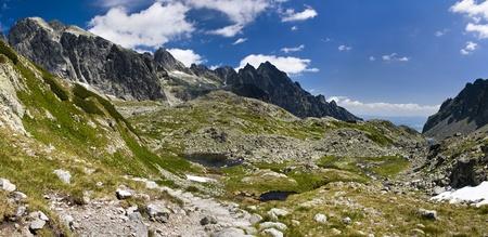 Mountains panorama - Slovakia Tatras Stock Photo - 17745715